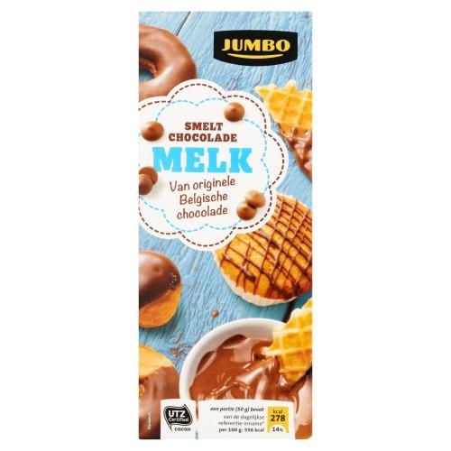 Jumbo Smeltchocolade Melk 200g (200g)