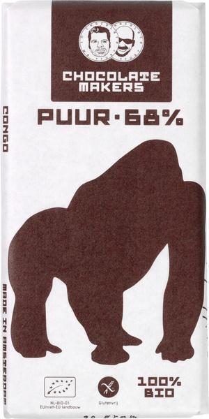 Puur 68% virunga cacao (reep, 85g)