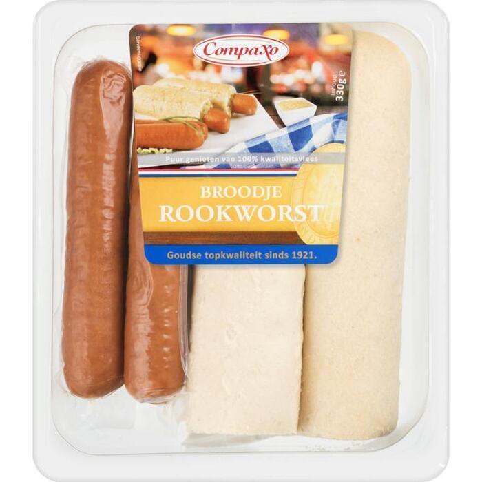Broodje rookworst (330g)