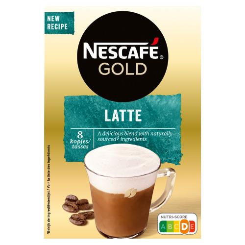 Nescafé Latte macchiato (8 × 18g)