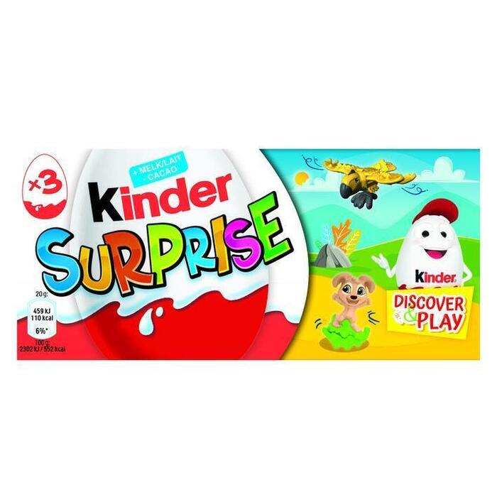 Kinder Surprise T3 (3 × 60g)