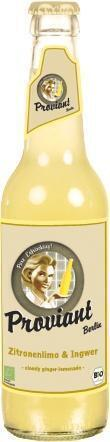 Citroen-gember limonade (33cl)