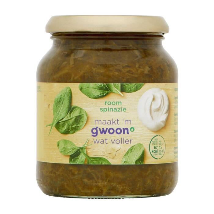 g'woon Roomspinazie (330g)