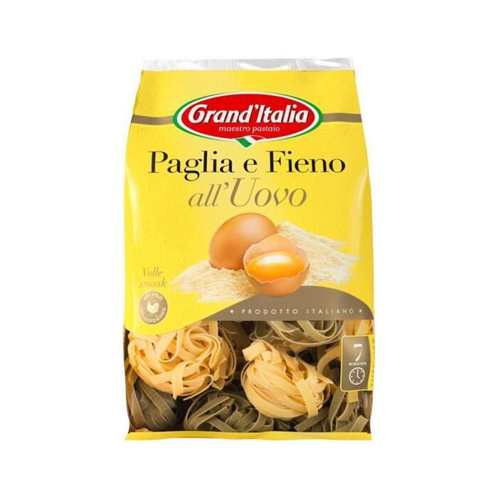 Grand'Italia Paglia Fieno (Ongekookt) (500g)