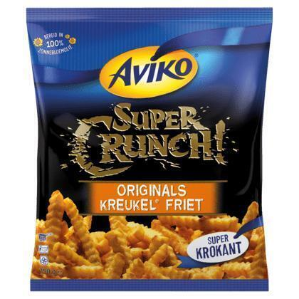Super Crunch Kreukel Frieten (Stuk, 750g)
