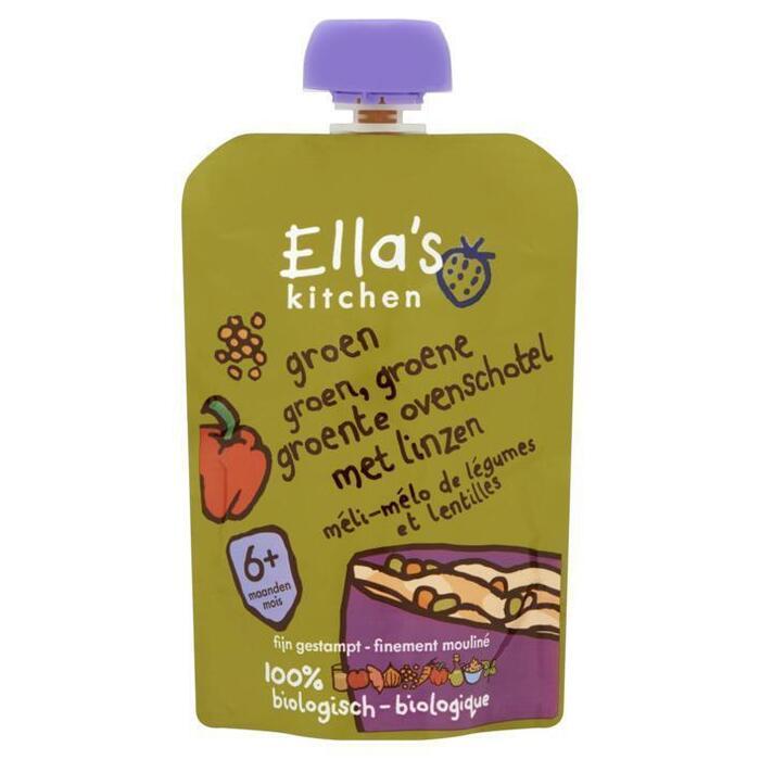 Ella's Kitchen Groente ovenschotel met linzen 6+ mnd (130g)
