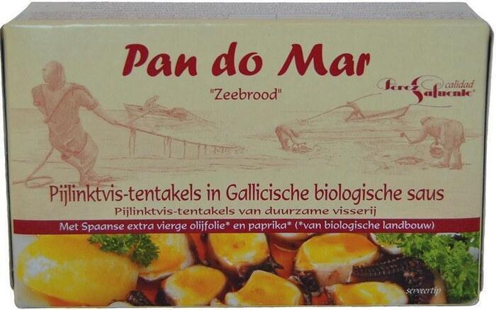 Pijlinktvis-tentakels in Gallicische biologische saus (blik, 120g)