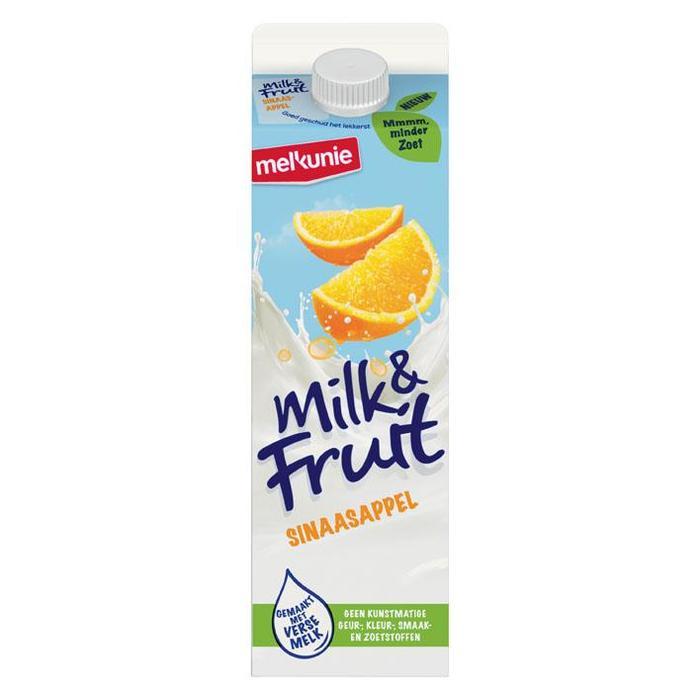 Milk & Fruit Sinaasappel (pak, 1L)