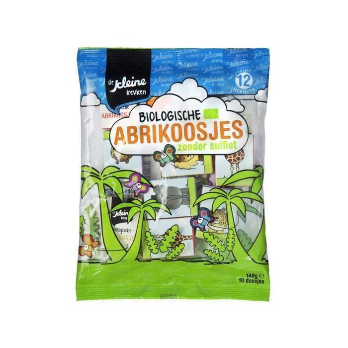 De Kleine Keuken Abrikoos bio 12 mnd (140g)