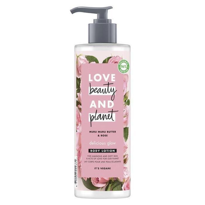 Love Beauty Planet Muru muru butter & rose oil body lotion (40cl)