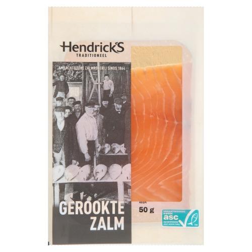 Hendrick's Gerookte Zalm 50 g (50g)