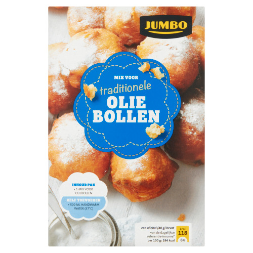 Jumbo Mix voor Traditionele Oliebollen 500g (500g)