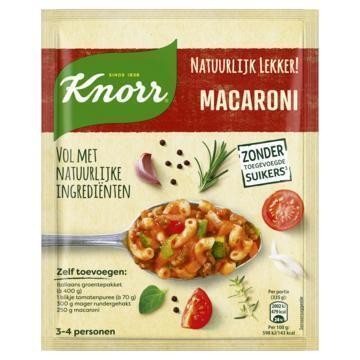 Knorr Natuurlijk Lekker! Maaltijdmix Macaroni 48 g (48g)