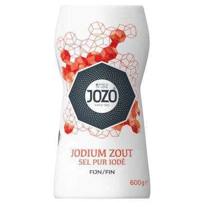 Keukenzout met jodium (600g)
