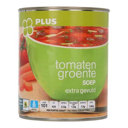Tomaten groentesoep (0.8L)