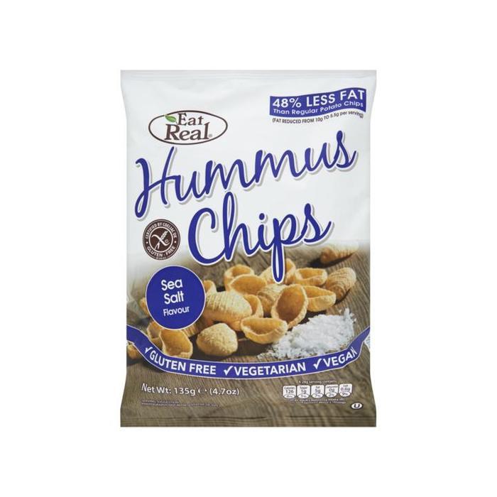 Eat Real Humus seasalt flavour 135g (135g)