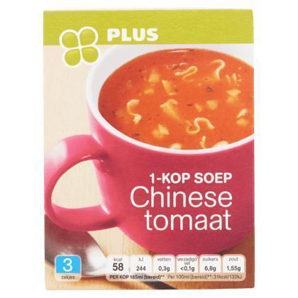 1-kop soep Chinese tomaat (33g)