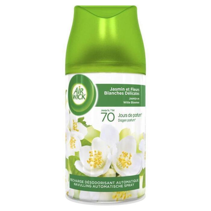 Air Wick Freshmatic Automatische Spray Navulling Jasmijn en Witte Bloemen Luchtverfrisser 250 ml (250ml)