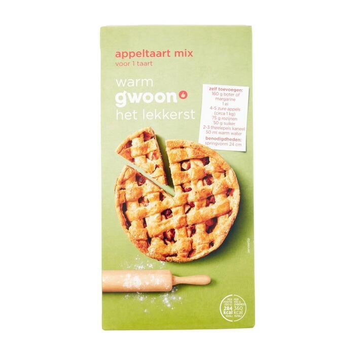 g'woon Mix voor appeltaart (400g)