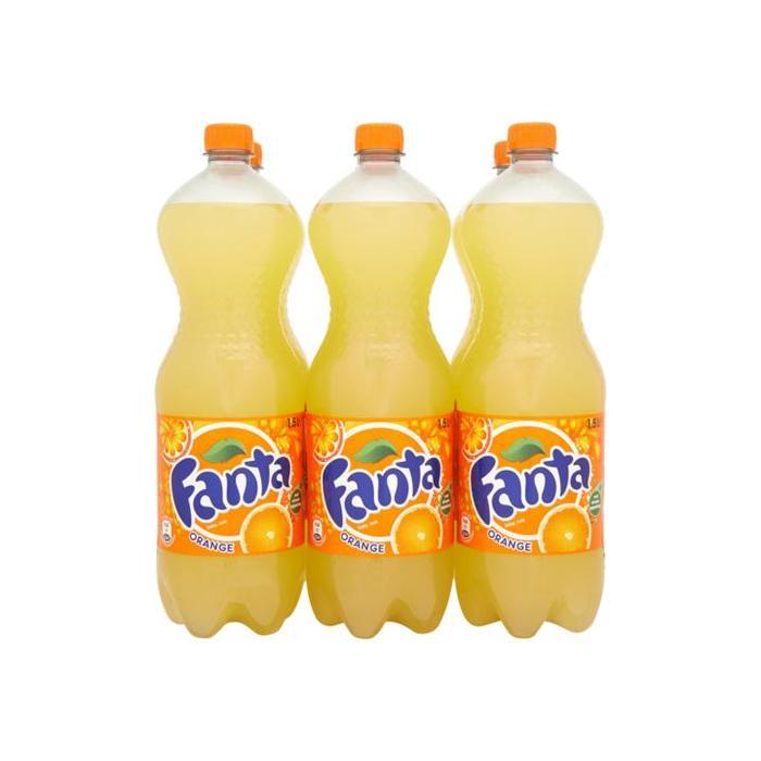 Orange 6 x 1,5 Liter (1.5L)