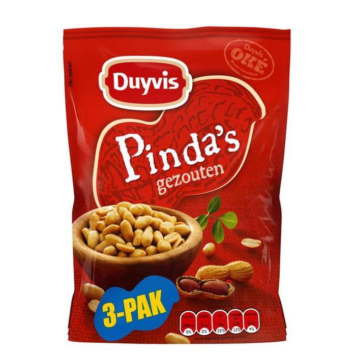 Pinda's gezouten (270g)