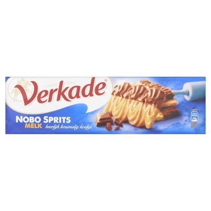 Verkade Nobo Sprits Melk 200 g (Stuk, 200g)