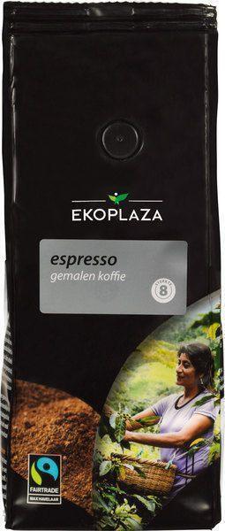 Espresso gemalen koffie (zak, 500g)
