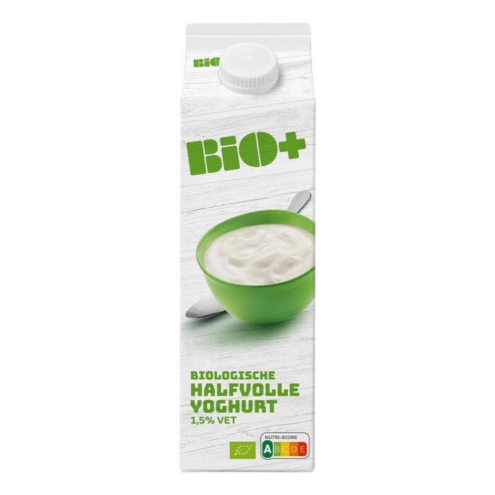 Bio+ Halfvolle yoghurt (1L)