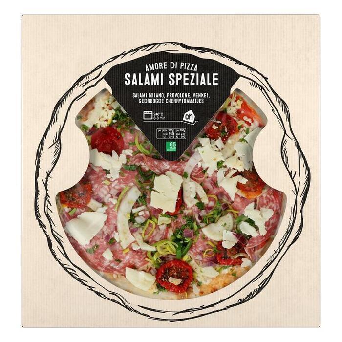 AH Pizza salami speziale (385g)