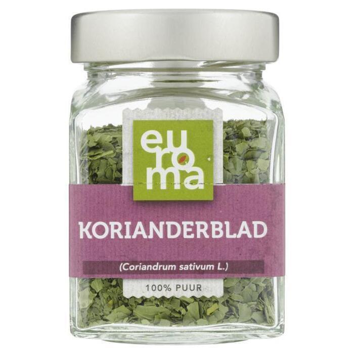 Euroma Korianderblad vriesdroog (8g)