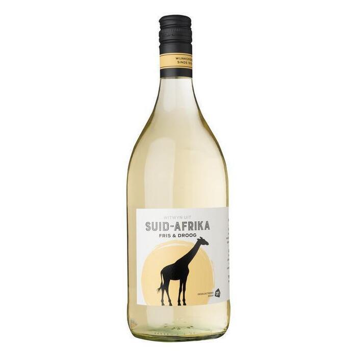 Frisfruitige Zuid-Afrikaanse huiswijn (fles, 1L)