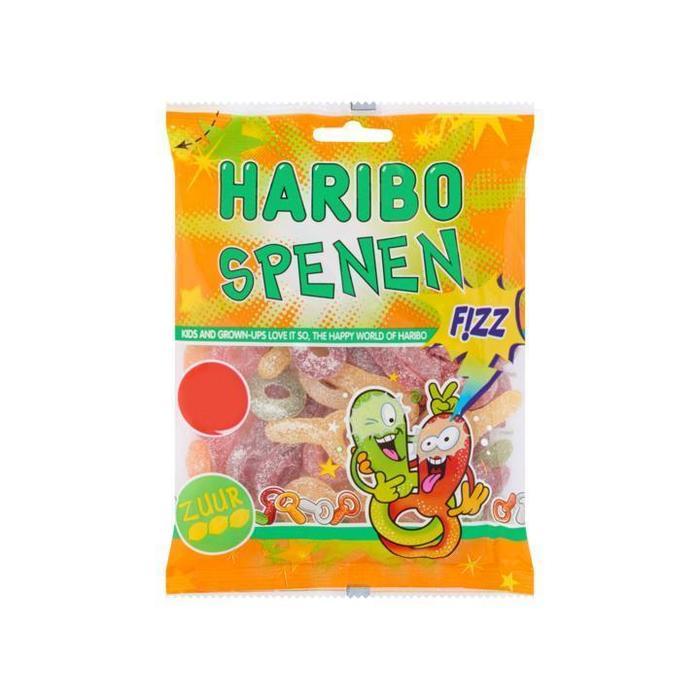 Haribo Zure Spenen 175g (175g)