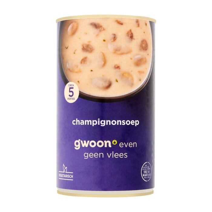 g'woon Champignonsoep (1.2L)