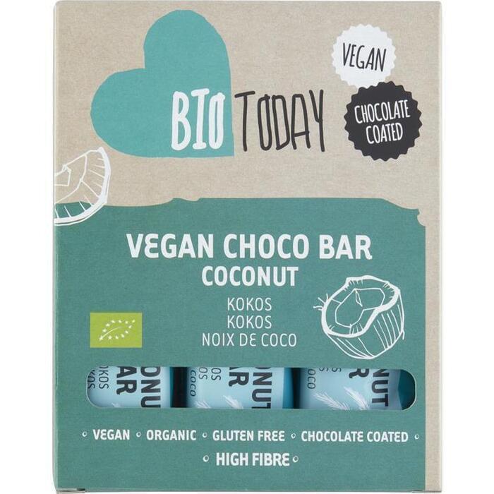 BioToday Vegan choco bar kokos (120g)