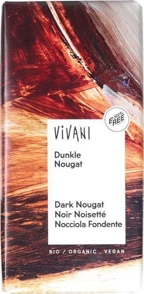 Vivani Bio Dark Nougat (100g)