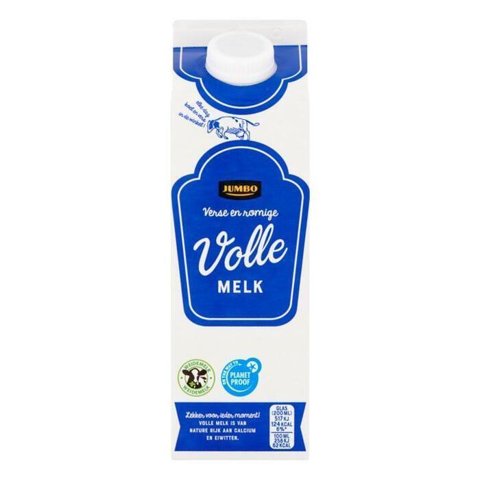 Volle Melk Romig Zacht (pak, 0.5L)