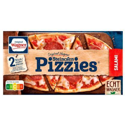 Steenoven pizzies oval salami (300g)