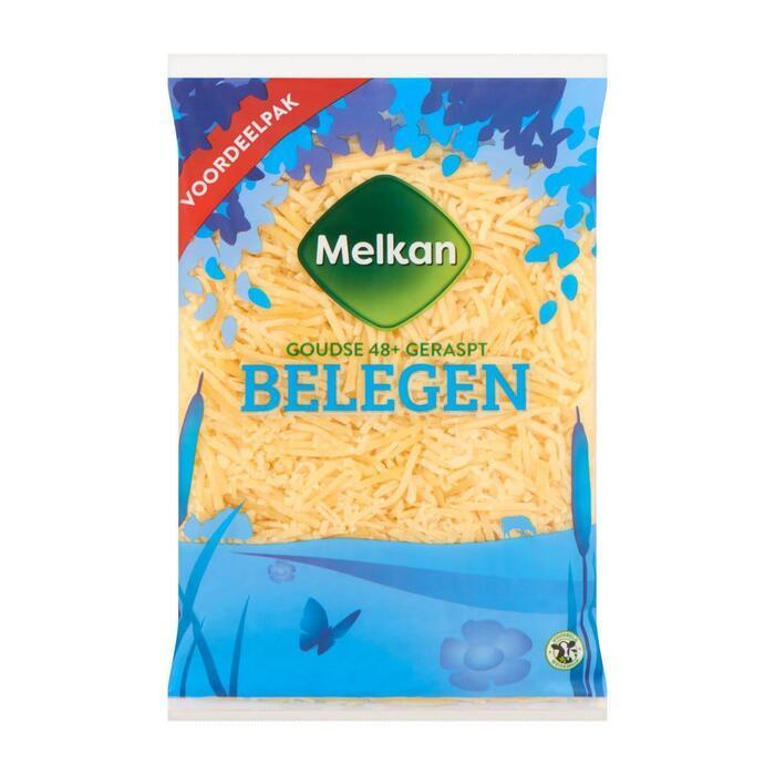 Melkan Geraspte kaas belegen 48+ voordeel (300g)