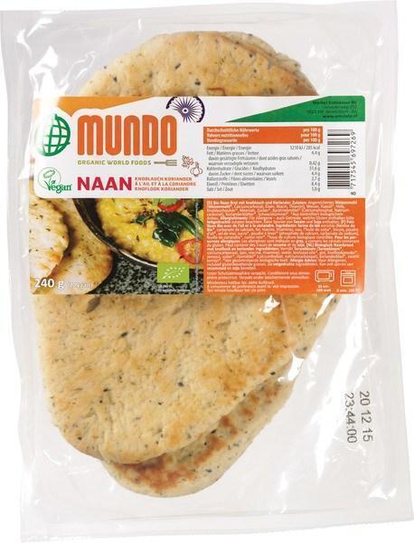 Naanbrood knoflook-koriander (260g)