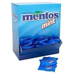 MENTOS MINT ZAKJE MET 2 MINTS (250 × 1.85kg)