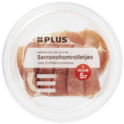 Serranoham truffelroomkaas rolletjes (100g)