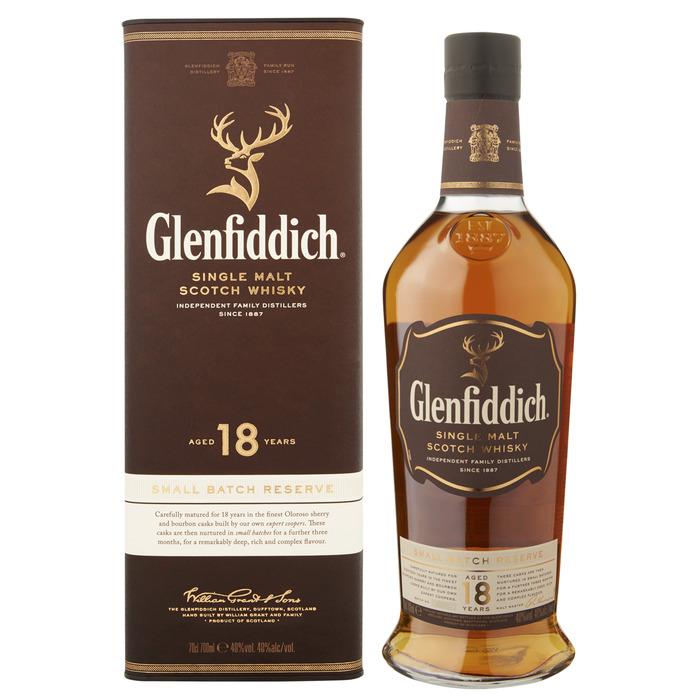 GLENFIDDICH 18YO GPK 40% 0.7L (0.7L)