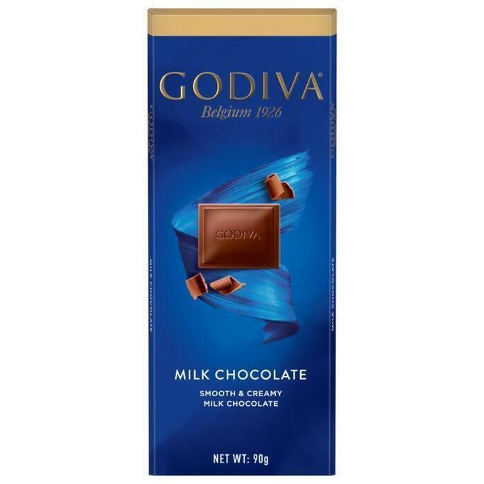 Godiva Tablet milk (90g)