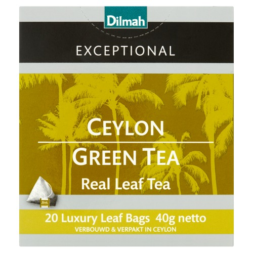 Dilmah Exceptional Ceylon Groene thee (20 × 40g)