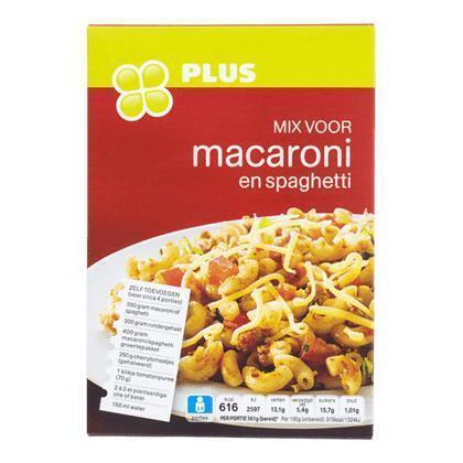 Mix voor macaroni spaghetti (40g)
