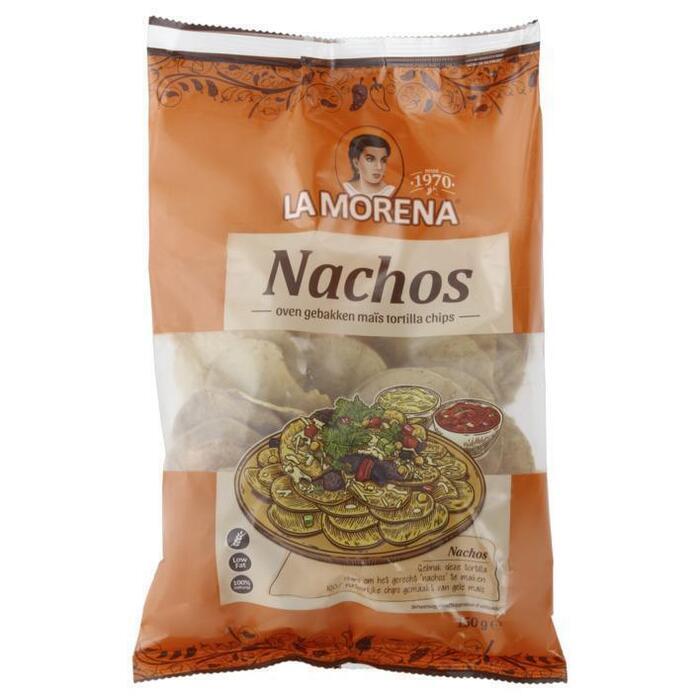 La Morena Nachos tortilla chips (150g)