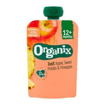 Organix Just apple, sweet patato & pineapple (100g)