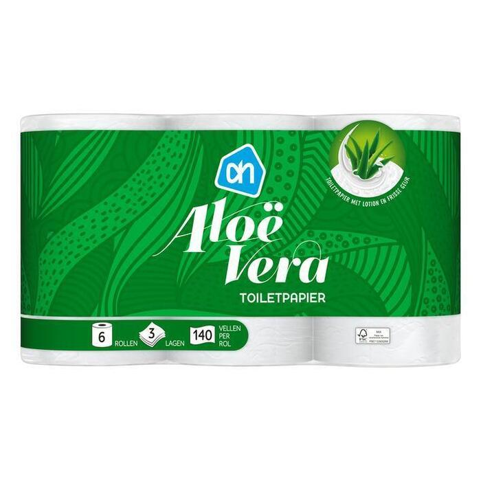 AH Toiletpapier Aloë Vera (rollen)