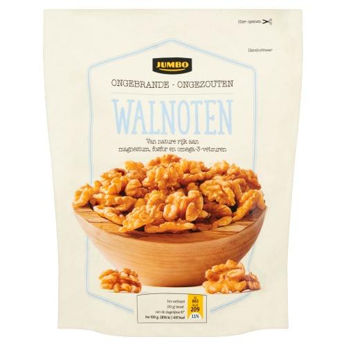 Jumbo Ongebrande - Ongezouten Walnoten 200 g (200g)