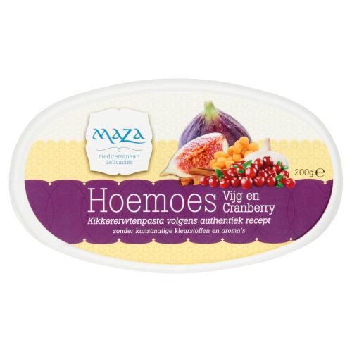 Maza Hoemoes cranberry vijg (200g)
